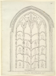 Dorchester Abbey, window f.136
